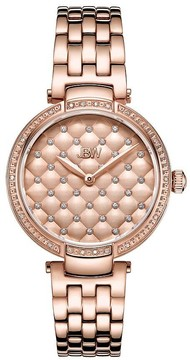 JBW Gala Ladies Rose Gold Watch