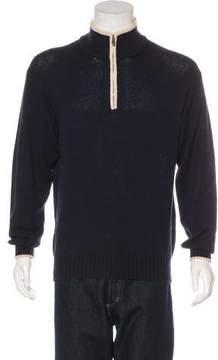 Loro Piana Knit Half-Zip Sweater