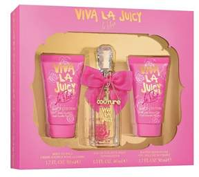 Juicy Couture Viva la Fleur by Eau de Parfum Women's Fragrance Gift Set - 3pc