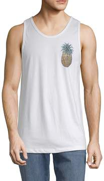 Riot Society Men's Pineapple Cotton Tank Top