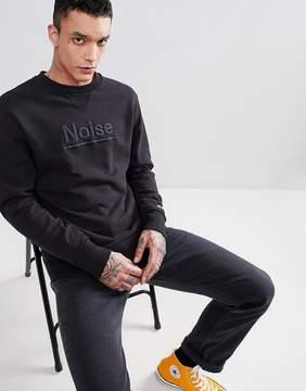 Champion x Wood Wood Noise Sweatshirt In Black