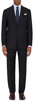 Giorgio Armani Men's Soft Pinstriped Wool Two-Button Suit