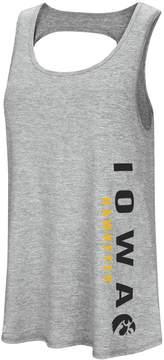 Colosseum Women's Iowa Hawkeyes Twisted Back Tank Top
