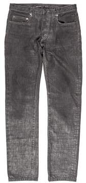 Christian Dior Skinny Waxed Jeans