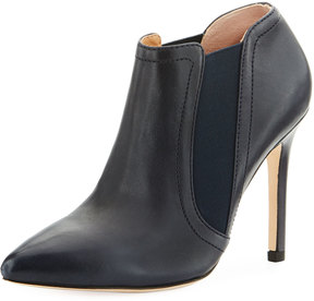 Halston Wendy Pointy-Toe Ankle Boot