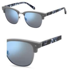Fossil 2057/S Sunglasses 0FRE 52 Matte Gray (T4