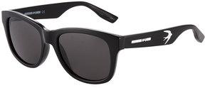 McQ Round Plastic Swallow Sunglasses