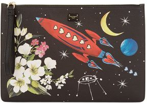 Dolce & Gabbana Printed Leather Pouch - MULTI - STYLE