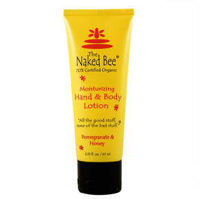 Pomegranate and Honey Hand and Body Lotion by The Naked Bee (2.25oz Lotion)