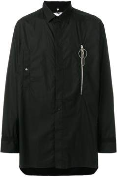 Oamc zipped pocket shirt
