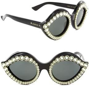 Gucci Sunglasses GG 0045 S- 001 BLACK / GREY