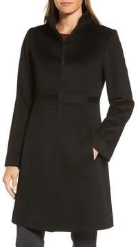 Fleurette Women's Applique Wool Coat