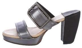 Dries Van Noten Platform Slide Sandals