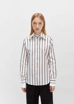 Aalto Double Sleeved Stripe Shirt Multicolor Stripe Size: FR 34