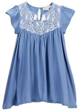 Tucker + Tate Embroidered Tassel Dress (Toddler, Little Girls, & Big Girls)