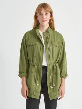 Frank and Oak Utility Jacket in Military Green
