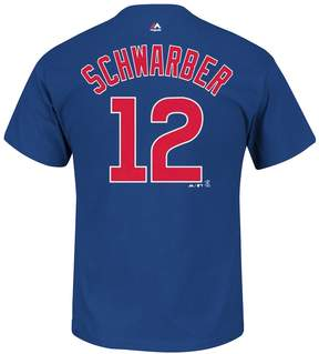 Majestic Big & Tall Chicago Cubs Kyle Schwarber Player Name and Number Tee