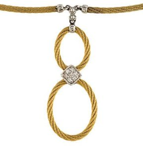 Charriol Two-Tone Diamond Necklace
