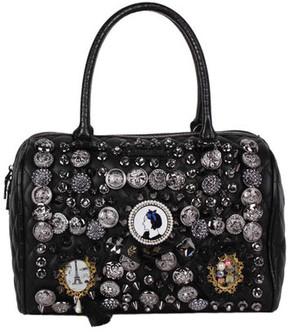 Women's Nicole Lee Darva Vintage Button Boston Bag