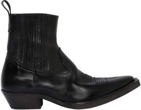 Maison Margiela Leather Cowboy Boots