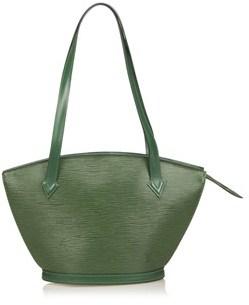 Louis Vuitton Pre-owned: Epi Saint Jacques Long Strap. - GREEN - STYLE