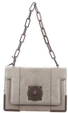 Roberto Cavalli Python Baguette Chelsea Bag