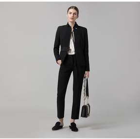 Amanda Wakeley   Black Sculpted Tailoring Jacket   Xl   Black