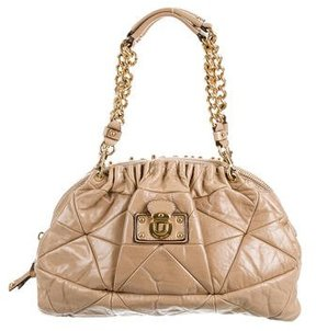 Marc Jacobs Quilted Leather Bag - NEUTRALS - STYLE