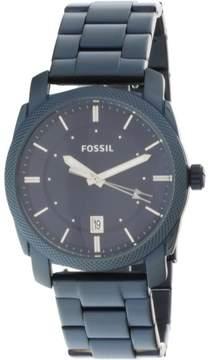 Fossil Men's Machine FS5231 Blue Stainless-Steel Japanese Quartz Fashion Watch