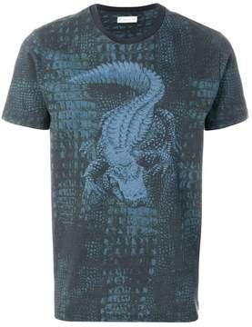 Etro crocodile print T-shirt
