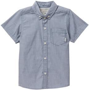 Quiksilver Everyday Wilsden Short Sleeve Shirt (Little Boys)