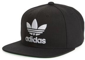 adidas Men's Trefoil Chain Snapback Baseball Cap - Black