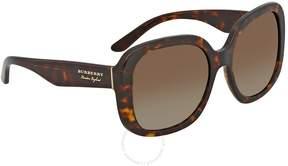 Burberry Polarized Brown Gradient Sunglasses