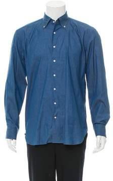 Daniel Cremieux Chambray Button-Up Shirt