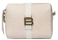 Borbonese Women's Beige Polyester Shoulder Bag.