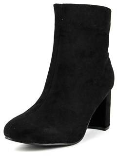Diba Danica Round Toe Synthetic Ankle Boot.