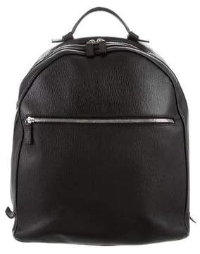 Salvatore Ferragamo Textured Leather Backpack