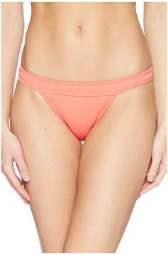Bikini Lab THE Rib-Thym Nation Banded Hipster Bottom Women's Swimwear