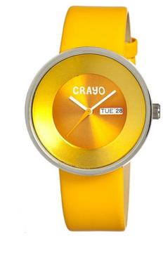 Crayo Button Collection CR0204 Unisex Watch