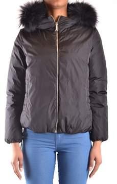 ADD Women's Black Polyester Outerwear Jacket.