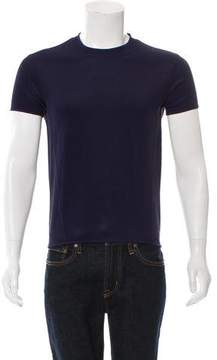 Issey Miyake Knit Short Sleeve T-Shirt