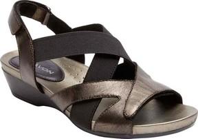 Aravon Standon X Strap Slingback Wedge Sandal (Women's)