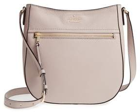 Kate Spade Jackson Street - Robin Leather Crossbody Bag - GREY - STYLE