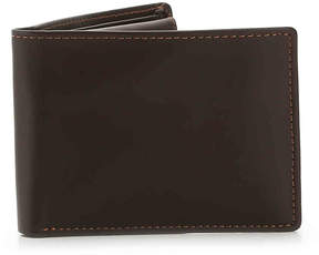 Dopp Men's Regatta Double Credit Card Leather Wallet