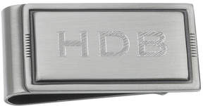 Asstd National Brand Personalized Silver-Toned Antique Money Clip