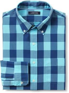 Lands' End Lands'end Men's Tailored Fit Buttondown Collar Sail Rigger Oxford Shirt
