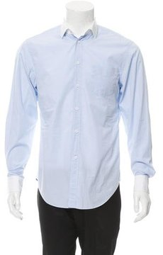 Band Of Outsiders Two Tone Button-Up Shirt