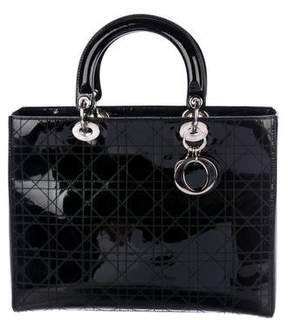 Christian Dior Large Cannage Lady Bag