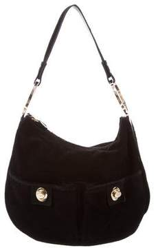 Tod's Small Ponyhair & Suede Hobo