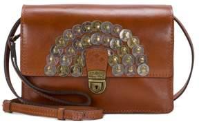 Patricia Nash Lanza Leather Coin Crossbody Bag